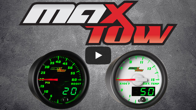 MaxTow Gauges Product Overview