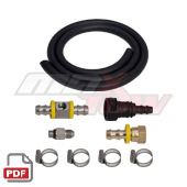 Maxtow 10-15 Dodge Ram Cummins 6.7L Big Line Kit Instructions