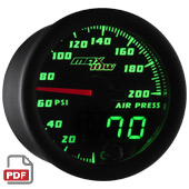 Maxtow Air Suspension Gauge Instructions