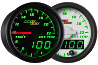 MaxTow Double Vision 2200 F Exhaust Gas Temperature Gauge